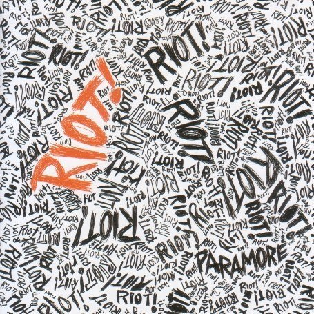 the final riot paramore album cover. paramore album cover riot