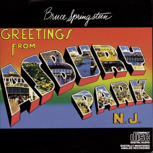 Bruce Springsteen Greetings from Asbury Park, N.J.