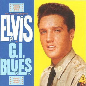 Elvis Presley G I Blues Album Cover Parodies