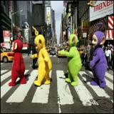 Abbey Road Teletubbies Rock ! Tubbie Road