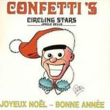 Confettis Circling Stars (Jingle Bells)