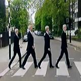 Harry Enfield and Paul Whitehouse John, 70, Paul, 68, George, 67 & Ringo, 70 - video spoof