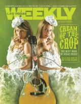 JILL AND JULIA COVER OF LAS VEGAS WEEKLY MAGAZINE 2016