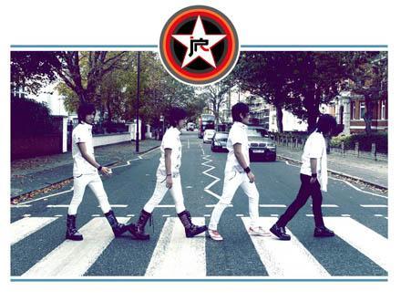 Abbey Road zebra