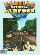 National Lampoon October `77 Beatles Issue