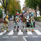 Nickelodeon Teenage Mutant Ninja Turtles Visit Famous London Landmarks