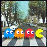 Pac Man Beatles Abbey Road T-Shirt