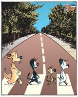 Patrick McDonnell Abbey Road ( Mutts version )