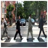 Politicians of Hoboken, NJ Hoboken politicians take a walk down Abbey Road