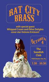 Rat City Brass & Dolores Erickson Whipped Cream & Other Delights