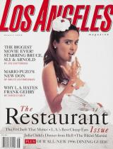 Salma (Model) Los Angeles Magazine The Restaurant Issue & Other Delights