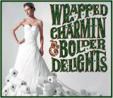 Soola Linieu, Model Wrapped Charmin & Bolder Delights