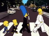The Beatles Abbey Simpsons Road