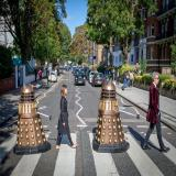 The Doctor & Clara Dalek Road
