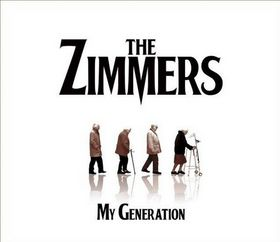 The New rock group the Zimmers