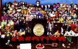 The artists of Creation Records Sgt. Pepper-style promo pic