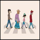 Tshirt Laundry ! Gorillaz Abbey Road