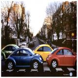 VW Bugs Beetles as Beatles