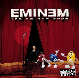 Album cover parody of The Eminem Show by Eminem