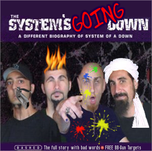 Album cover parody of Maximum by System of a Down