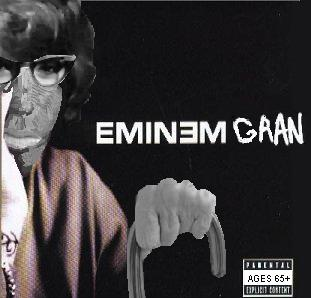 Album cover parody of Stan by Eminem