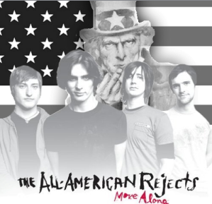 Album cover parody of Move Along by The All-American Rejects