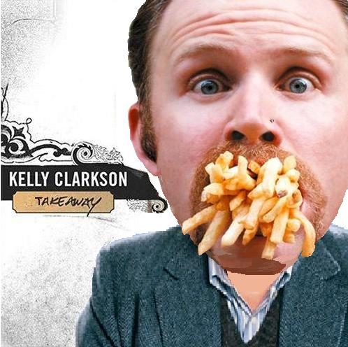 Album cover parody of Breakaway by Kelly Clarkson