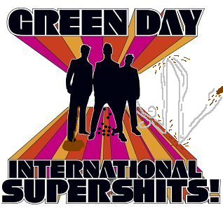 Album cover parody of International Superhits! by Green Day