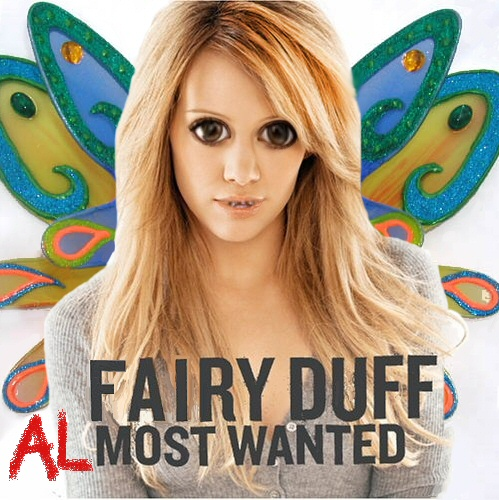 Album cover parody of Most Wanted by Hilary Duff