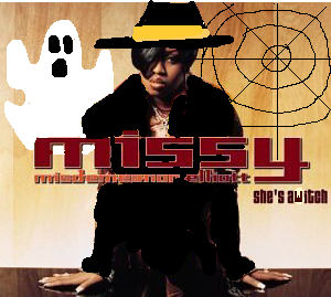 Album cover parody of She's a Bitch by Missy Elliott