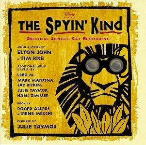 Album cover parody of The Lion King (1997 Original Broadway Cast) by Elton John, Tim Rice, Heather Headley, Mark Mancina