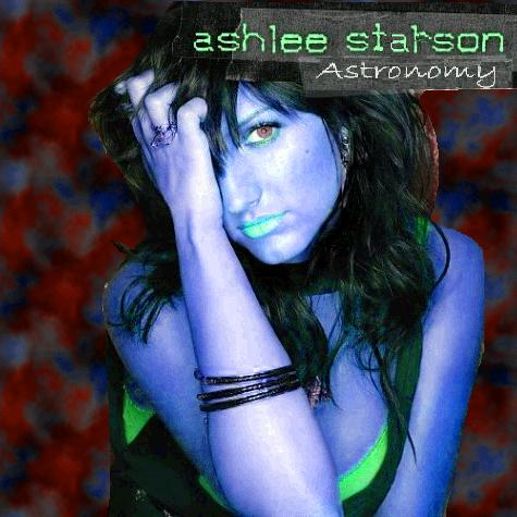 Album cover parody of Autobiography by Ashlee Simpson