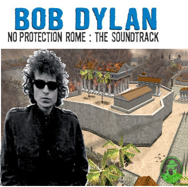 Album cover parody of No Direction Home: The Soundtrack (The Bootleg Series Vol. 7) by Bob Dylan