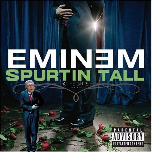Album cover parody of Curtain Call by Eminem Originally: