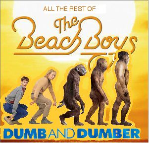 Album cover parody of Sounds Of Summer - The Very Best Of The Beach Boys by The Beach Boys
