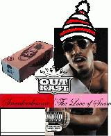 Album cover parody of Speakerboxxx/ The Love Below by OutKast