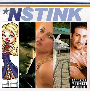 Album cover parody of *NSYNC by *NSYNC