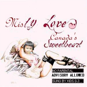 Album cover parody of America's Sweetheart by Courtney Love