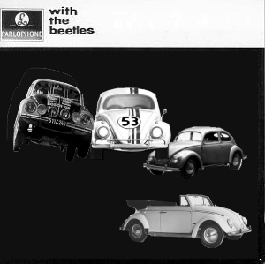 Album cover parody of With the Beatles by The Beatles