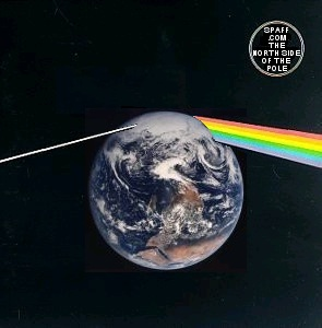 Album cover parody of North Side of the Pole by Pink Floyd