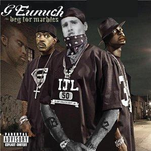 Album cover parody of Beg for Mercy by G-Unit