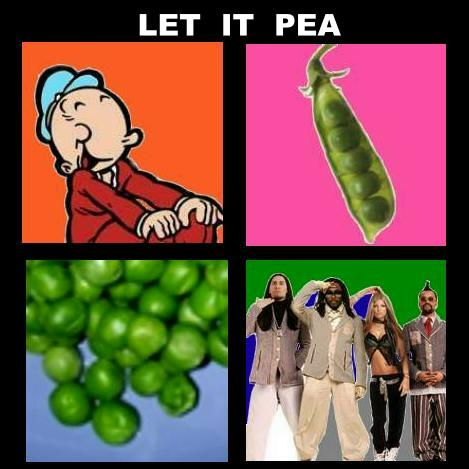Album cover parody of Let It Be by Beatles