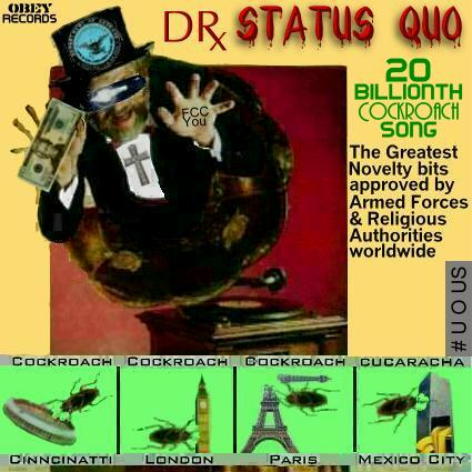 Album cover parody of Dr. Demento 20th Anniversary Collection: The Greatest Novelty Records Of All Time by Various Artists