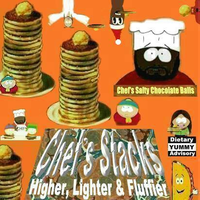 Album cover parody of South Park: Bigger, Longer & Uncut - Music From And Inspired By The Motion Picture by Matt Stone, Trey Parker