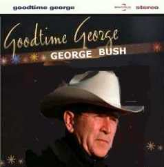Album cover parody of Goodtime George by George Melly