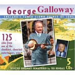 Album cover parody of England's Famed Clown Prince of Song by George Formby