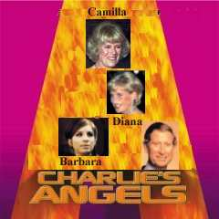 Album cover parody of Charlie's Angels: Music from the Motion Picture (2000 Film) by Various Artists - Soundtracks