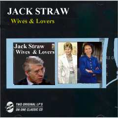 Album cover parody of Wives and Lovers/Dear Heart & Other Great Songs of Love by Jack Jones