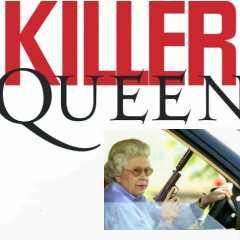 Album cover parody of Killer Queen: A Tribute to Queen by Various Artists