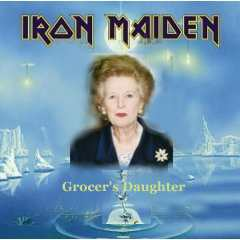 Album cover parody of Seventh Son of a Seventh Son by Iron Maiden